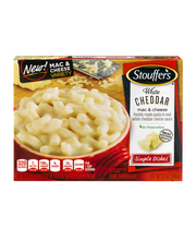 STOUFFER'S White Cheddar Macaroni & Cheese 12 oz Box