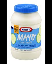 Kraft Mayo Light Mayonnaise 30 fl. oz. Jar