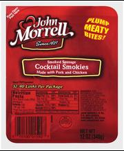 John Morrell® Cocktail Smokies Sausage 12 oz
