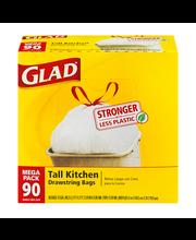 Glad Tall Kitchen Drawstring Bags - 90 CT