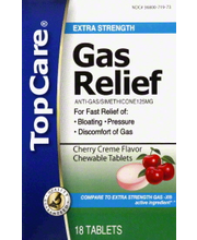 TOPCARE GAS RELIEF CHW CHRY TABS
