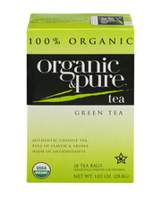 Organic & Pure Green Tea - 18 CT