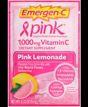Emergen-C® Pink Lemonade 1000mg Vitamin C Dietary Supplement ...