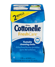 Kleenex Cottonelle Fresh Care Flushable Cleansing Cloths - 84 CT