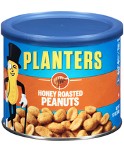 Planters Honey Roasted Peanuts 12 oz. Canister