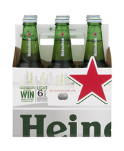 Heineken® Light Lager Beer 6-12 fl. oz. Bottles