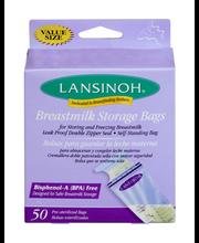 Lansinoh Breastmilk Storage Bags - 50 CT