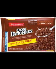 Malt-O-Meal® Cocoa Dyno-Bites® Cereal 22 oz. ZIP PAK®