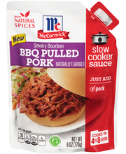 McCormick® Smoky Bourbon BBQ Pulled Pork Slow Cooker Sauce 6 ...