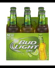 Bud Light Lime® 6-12 fl. oz. Glass Bottles