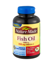 Nature Made 300mg Fish Oil Liquid Softgels - 100 CT