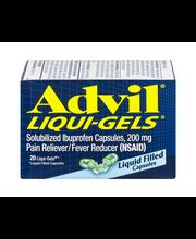 Advil® Liqui-Gels Pain Reliever/Fever Reducer (Ibuprofen) 200...
