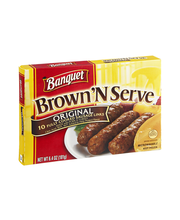 Banquet Brown 'N Serve Sausage Links Original - 10 CT