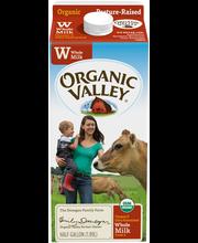 Organic Valley® Whole Milk 0.5 gal. Carton