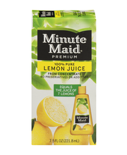 Minute Maid® Premium 100% Pure Lemon Juice From Concentrate 7...