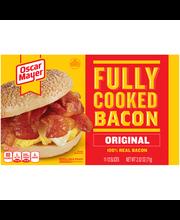 Oscar Mayer Fully Cooked Original Bacon 2.52 oz. Box