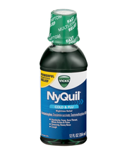 Vicks® NyQuil™ Cold & Flu Nighttime Relief Liquid 12 fl. oz. ...