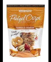 Snack Factory Deli Style Pretzel Crisps Chipotle Cheddar Flavor