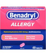 Benadryl® Allergy 25mg 48 ct.