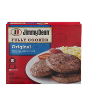 Jimmy Dean® Fully Cooked Original Pork Sausage Patties, 8 Count