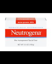 Neutrogena® Acne Prone® Skin Formula Facial Bar 3.5 Oz Box