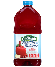 Old Orchard® Healthy Balance® Apple Cranberry Juice Cocktail ...