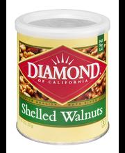 Diamond of California® Shelled Walnuts 8 oz. Can