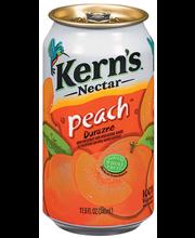 Kern's Peach Nectar 11.5 Fl Oz Can