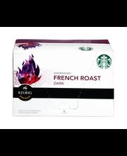 Starbucks® French Roast Dark Roast Ground Coffee 10-0.42 oz. ...