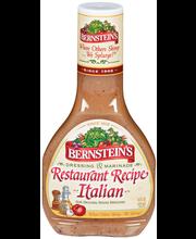 Bernstein's Restaurant Recipe Italian Dressing 14 Oz Plastic ...