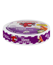 The Laughing Cow® Creamy Swiss Garlic & Herb Spreadable Chees...