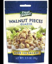 Fresh Gourmet Glazed Walnut Pieces 3.5 Oz Peg