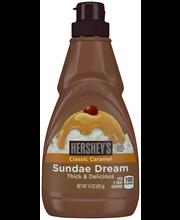 Hershey's Sundae Dream Caramel Syrup 15 oz. Squeeze Bottle