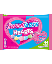 SWEETARTS Hearts Treat Size, 18 oz bag, 44 count