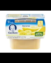 Gerber® 1st Foods® Bananas 2-2.5 oz. Cups