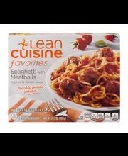 LEAN CUISINE Favorites Spaghetti with Meatballs 9.5 oz. Box