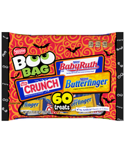 NESTLE Halloween Chocolate Boo Bag 60 pieces, 38 oz. Bag