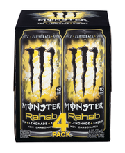 Monster Rehab Tea Plus Lemonade Plus Energy - 4 CT