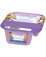 "Chobani® Simply 100®""Crunch"" Blueberry Cookie Crumble Non-Fat..."
