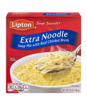 Lipton® Soup Secrets® Extra Noodle Soup Mix with Real Chicken...