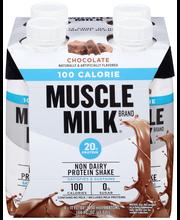 Muscle Milk® Chocolate Non Dairy Protein Shake 4-11 fl. oz. C...