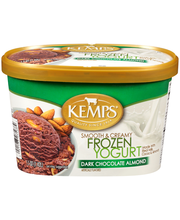 Kemps® Smooth & Creamy Dark Chocolate Almond Frozen Yogurt 1....