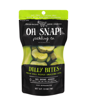 Oh Snap!™ Dilly Bites Fresh Dill Pickle Snacking Cut 3.5 oz. ...