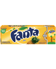 Fanta® Pineapple Soda 12-12 fl. oz. Cans