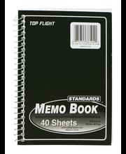 Standards Memo Book Black - 40 Sheets