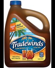 TRADEWINDS SLOW BREWED ICED TEA, Half Iced Tea & Half Lemonad...