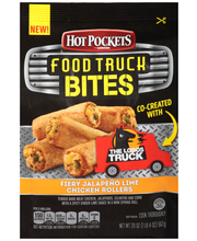 HOT POCKETS Food Truck Bites Fiery Jalapeno Lime Chicken Roll...
