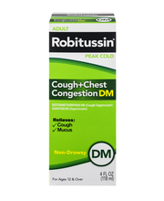 Robitussin® Peak Cold Cough + Chest Congestion DM Non-Drowsy ...