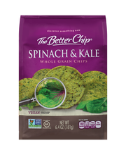 The Better Chip® Spinach & Kale Whole Grain Chips 6.4 oz. Bag
