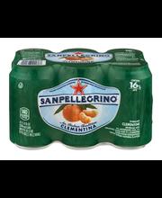 SANPELLEGRINO Clementina Sparkling Clementine Beverage 6-11.1...
